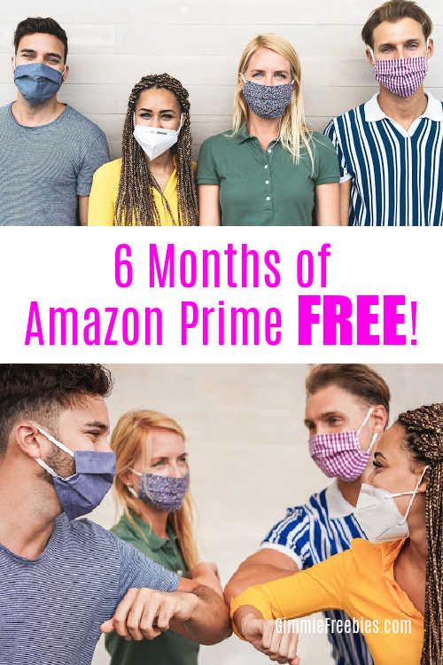 6 months amazon prime student