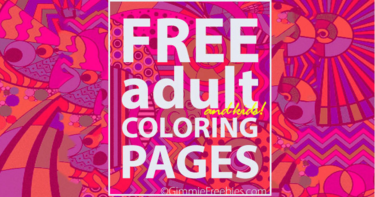 Adult Coloring Books: Free Coloring Book for Adults