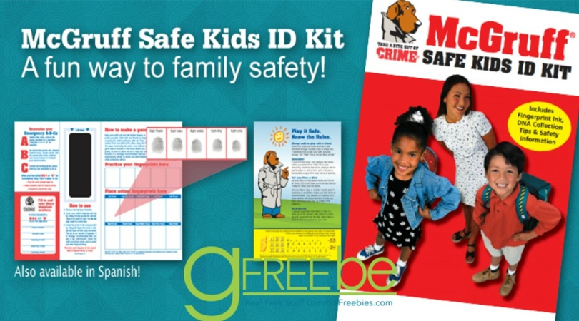 FREE McGruff Safe Kids ID Kit by Mail