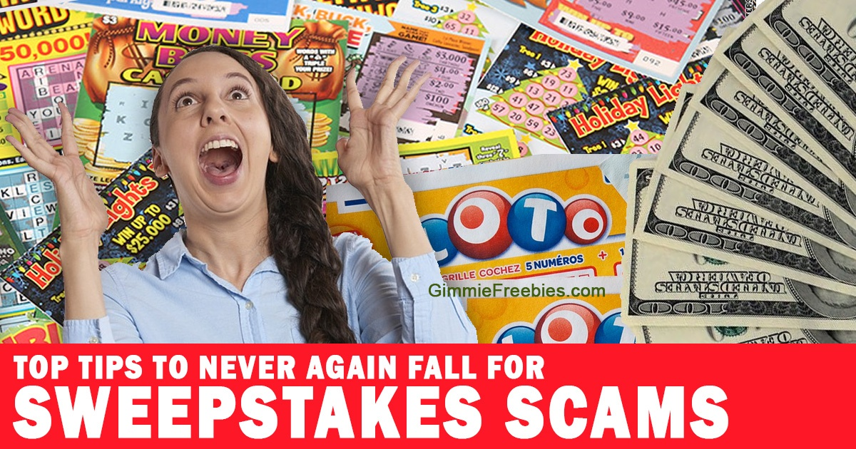Never Fall for Sweepstakes Scams Again