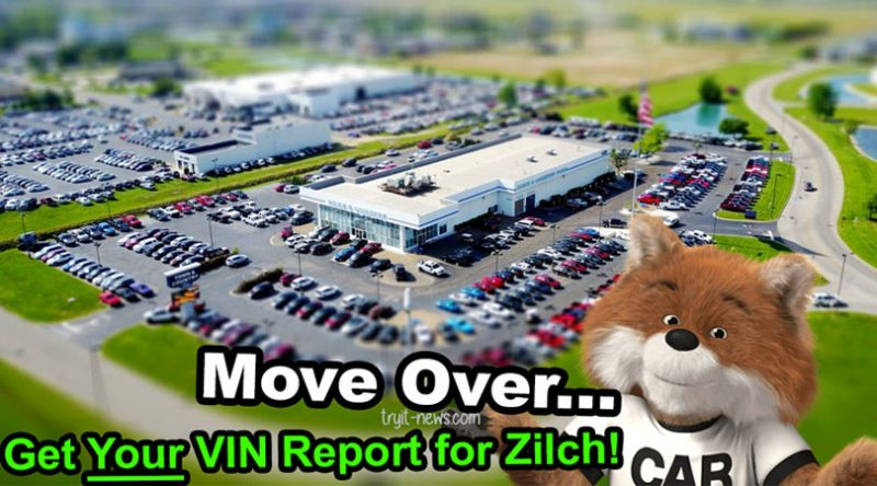 Free Carfax Report + 6 CAR FAX Alternative Vehicle History Report