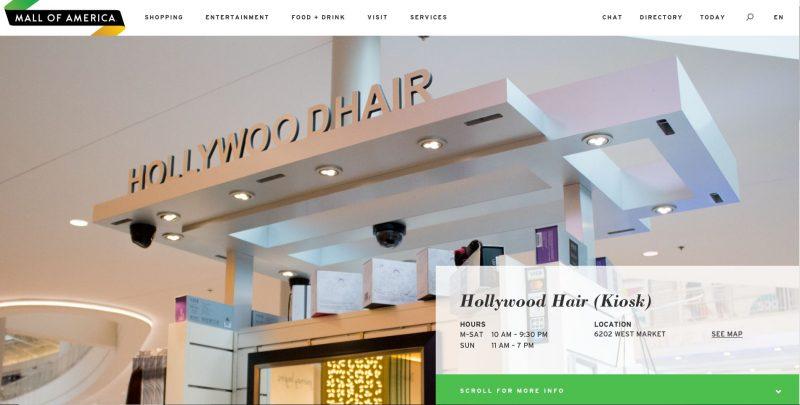 hollywood hair kiosk MOA