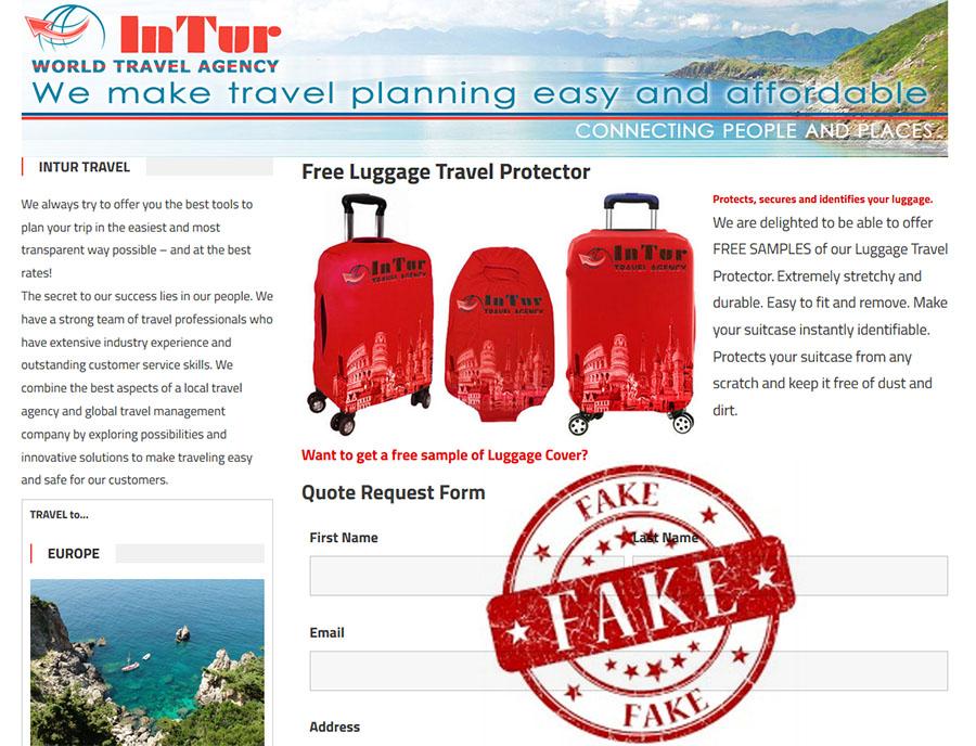intursu scam free luggage cover