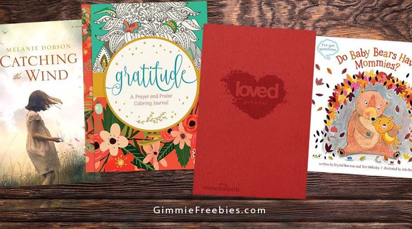 Free Books - Mailed Free! Adult Coloring Book, Journal, Kids Board Books & More