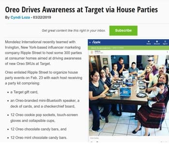 oreo target house party