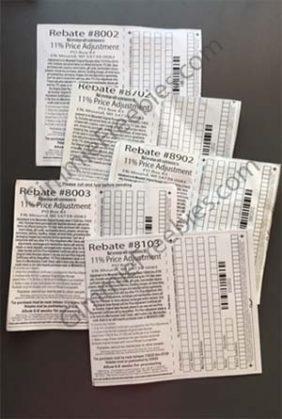menards price adjustement rebate form