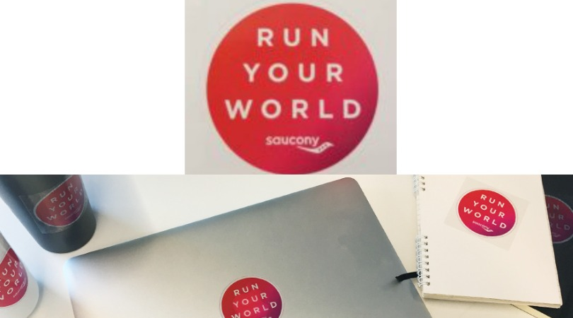 FREE Sticker from Saucony