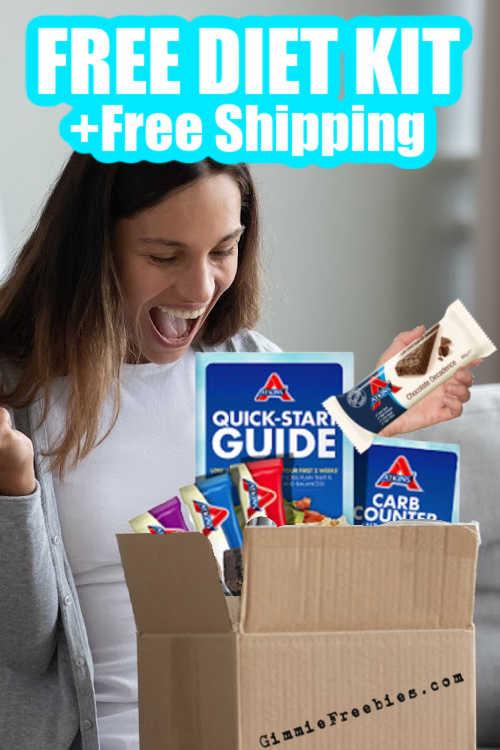 free atkins low carb diet kit