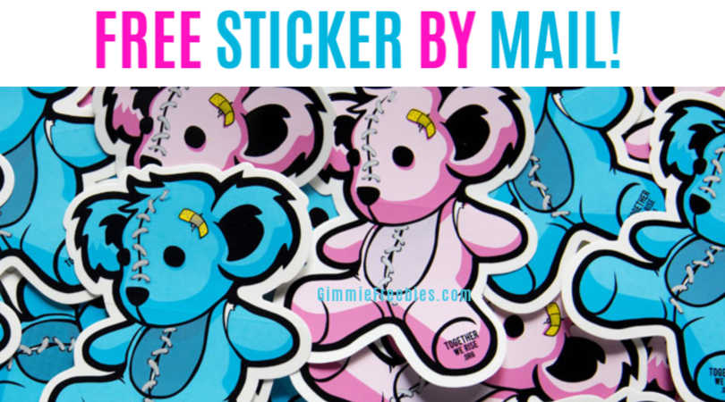 freebie teddy bear stickers