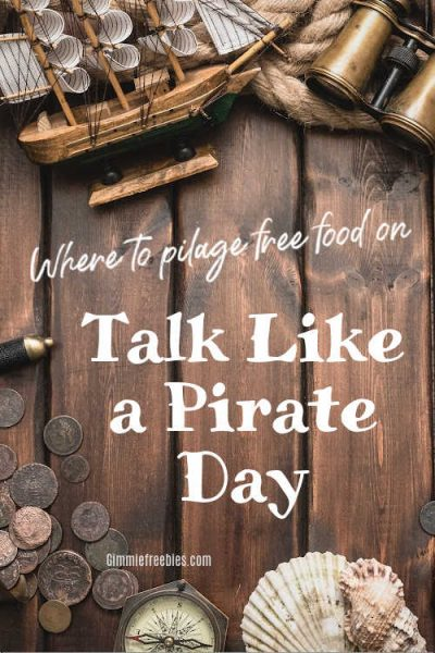 Free Food at Long John Silvers When You Talk Like a Pirate!