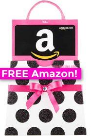 free amazon gift card polkadot purse