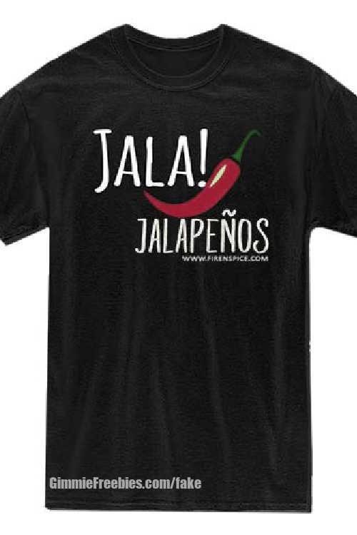free jala jalepeno fake freebie