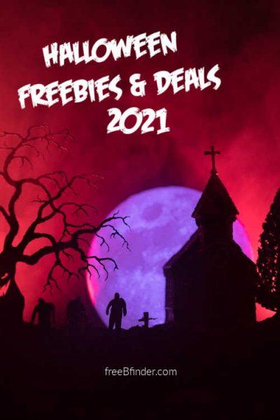 Halloween 2021 Freebies and Deals (HUGE LIST!)