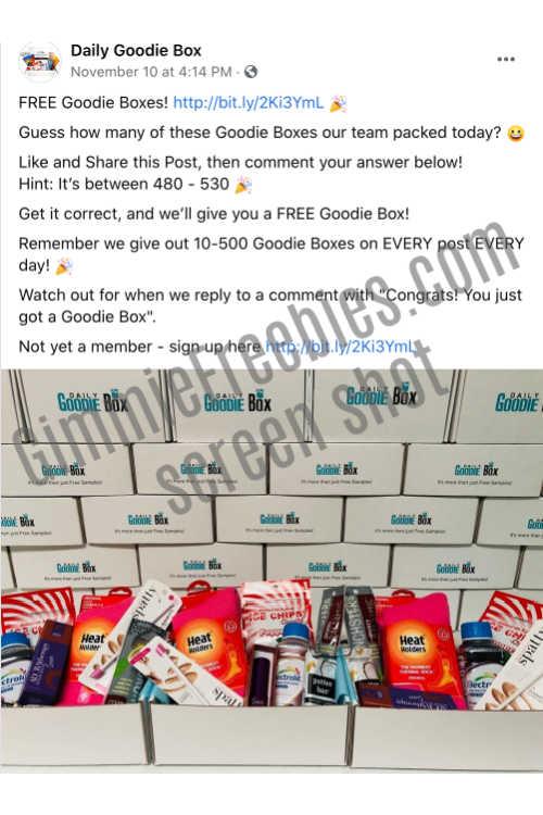 daily goodie box fb