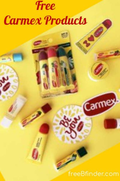 Possible Free Carmex Lip Balms, Stickers, and MORE