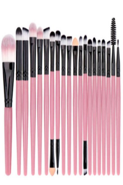 Possible Free 20 Piece Makeup Brush Set (Pinchme)