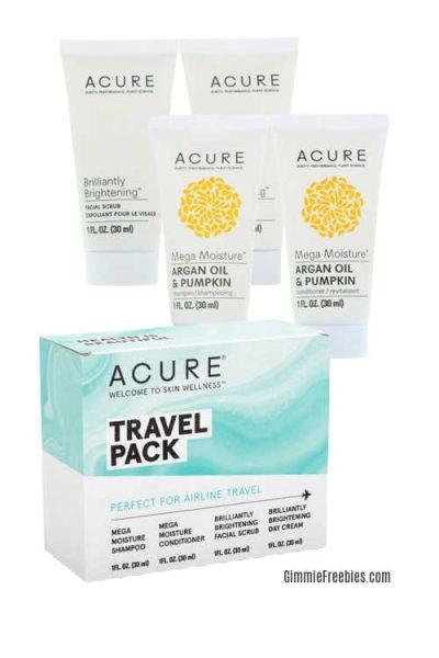 Acure Skincare Travel Set from Favo Spa Favospa