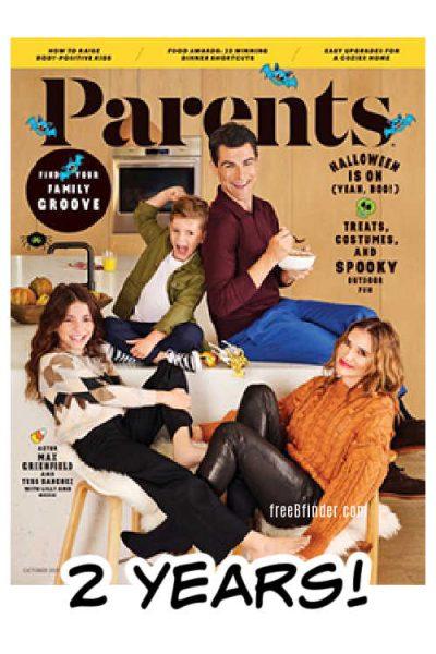 Free Parents Magazine Subscription September 2021