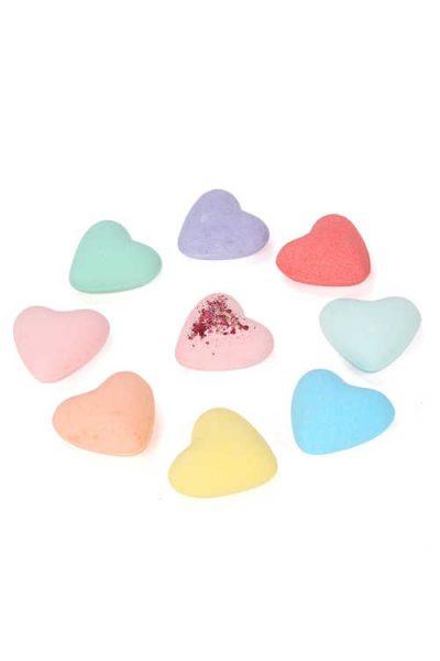 Free Heart Shaped Bath Bombs On Select Accounts (PinchMe)