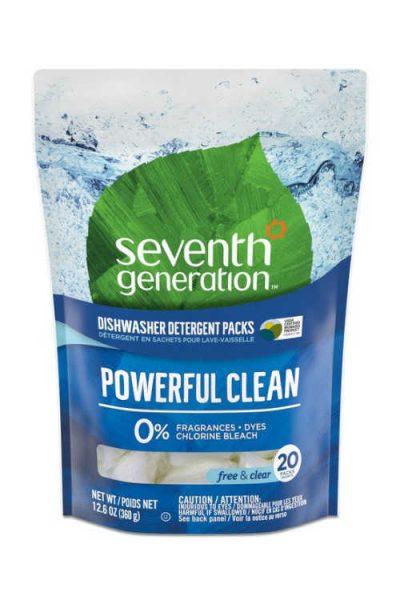 Possible Free Seventh Generation Dishwasher Detergent Packs