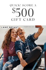 Free Lane Bryant Gift Card Giveaway (Quikly)