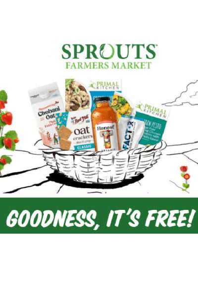 Free Full Size Products from Sprouts Farmers Market