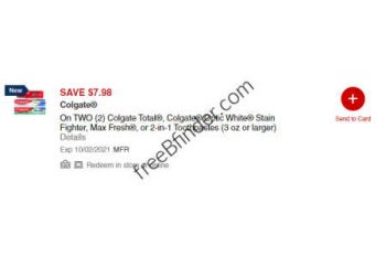 colgate toothpaste cvs