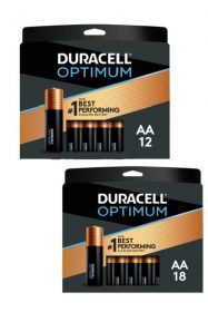 FREE Duracell Optimum AA & AAA Batteries with Office Depot OfficeMax Rewards