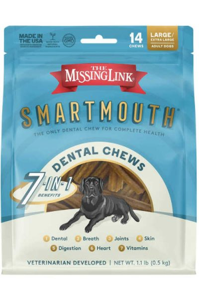 Free Smartmouth Dog Dental Chews For Entering Sweepstakes