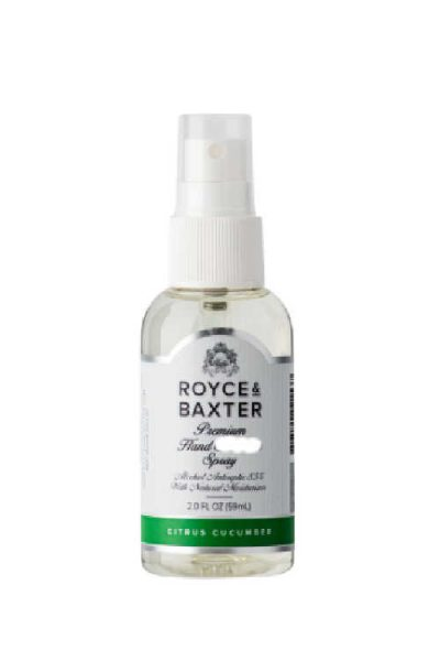 Hurry! Free Royce & Baxter Hand Cleaner Spray