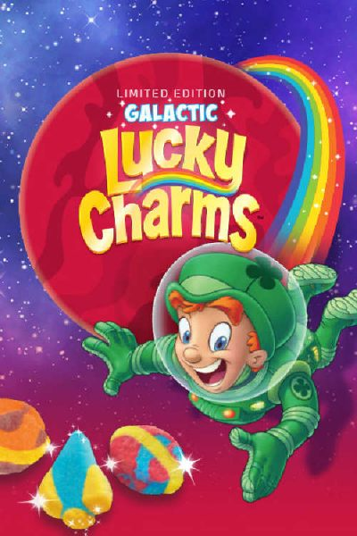 Lucky Charms Galactic Space Giveaway (Over 725 Winners Possible)