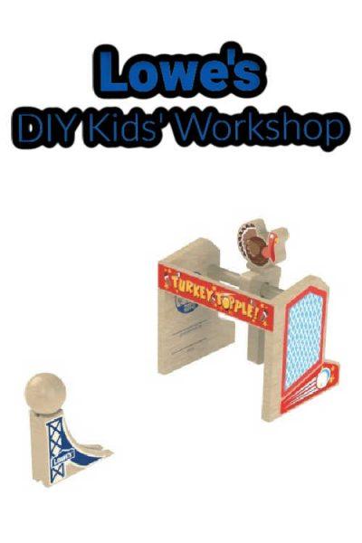 Lowe's DIY Kids' Workshops (formerly Build & Grow Workshops)