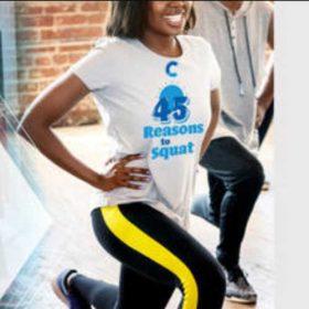 Free 45 Reasons to Squat T-Shirt (Shipped Free)