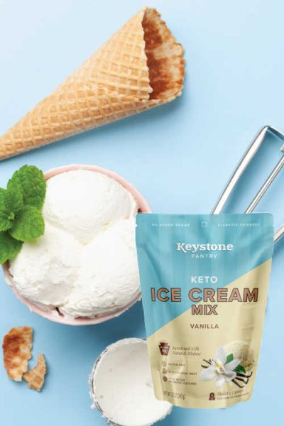 Apply for Possible Free Keystone Pantry Keto Ice Cream Mix (TryProducts)