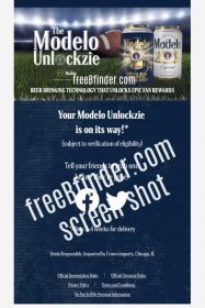Hurry! Free Modelo Can Koozie (MOBILE Only, First 15,000)
