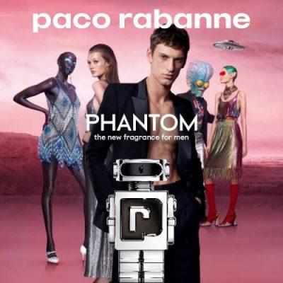 Free Paco Rabanne Phantom Fragrance Sample (SMAS)