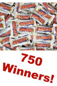 PAYDAY Work Hard Pay Hard Instant Win Game - 750 Winners!