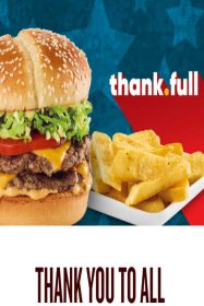Free Burger & Fries at Red Robin for Veterans